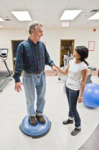 Exercise training prescription service